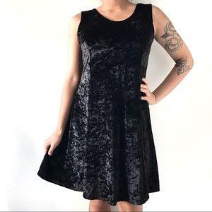 🎀 Lauren Taylor Women's Velvet Black Dress 🎀